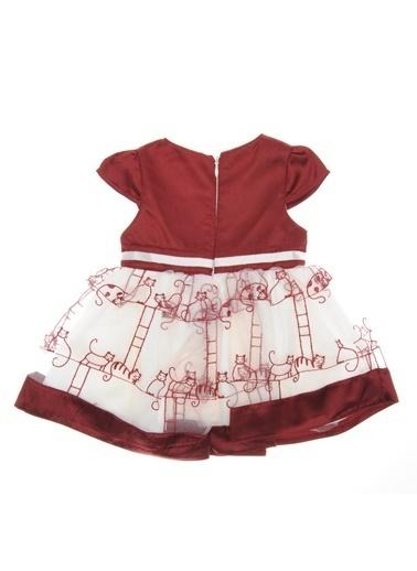Panço Abiye Elbise 18226198100 Bordo